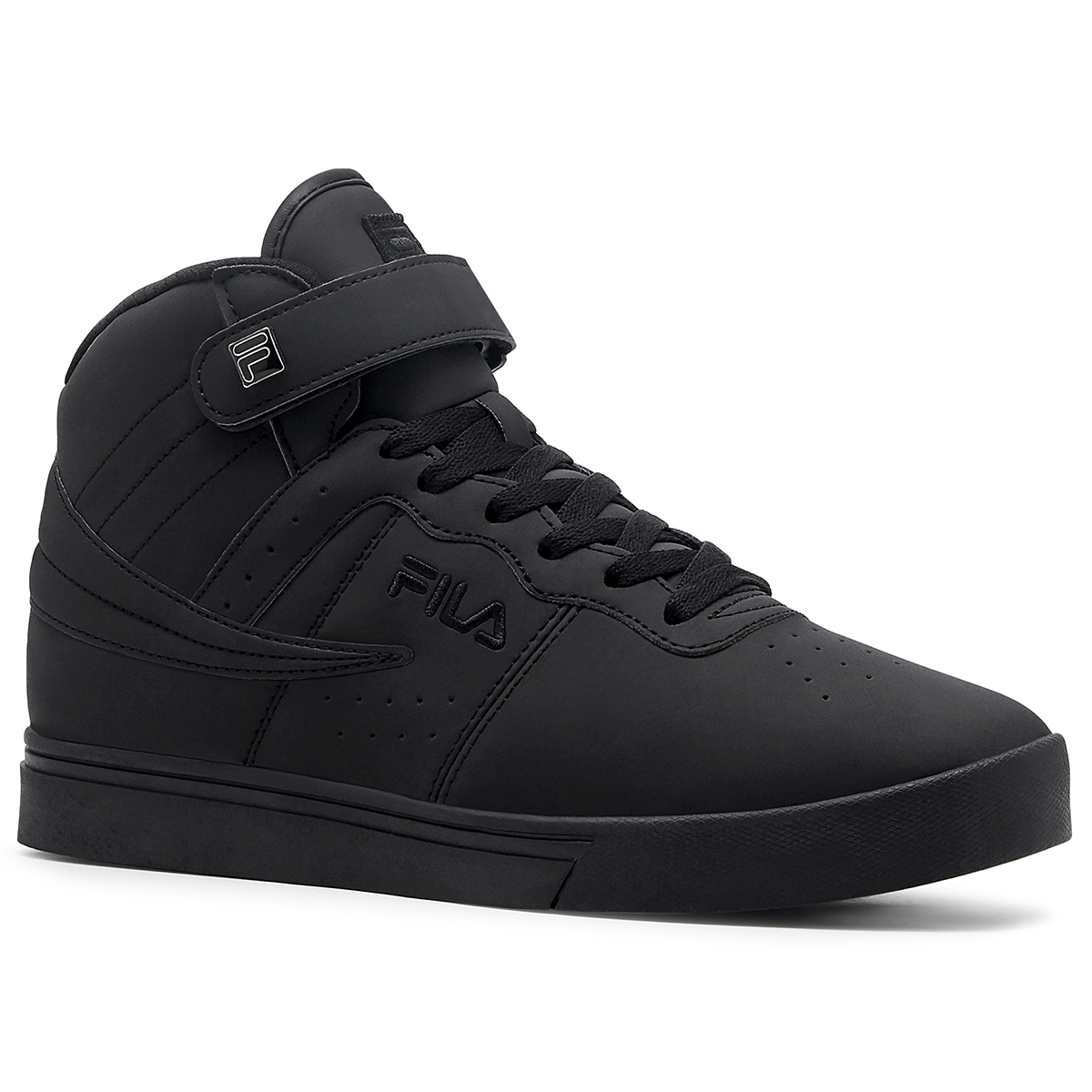 Fila Men's Vulc 13 Mid Basketball Shoes - Black, 12
