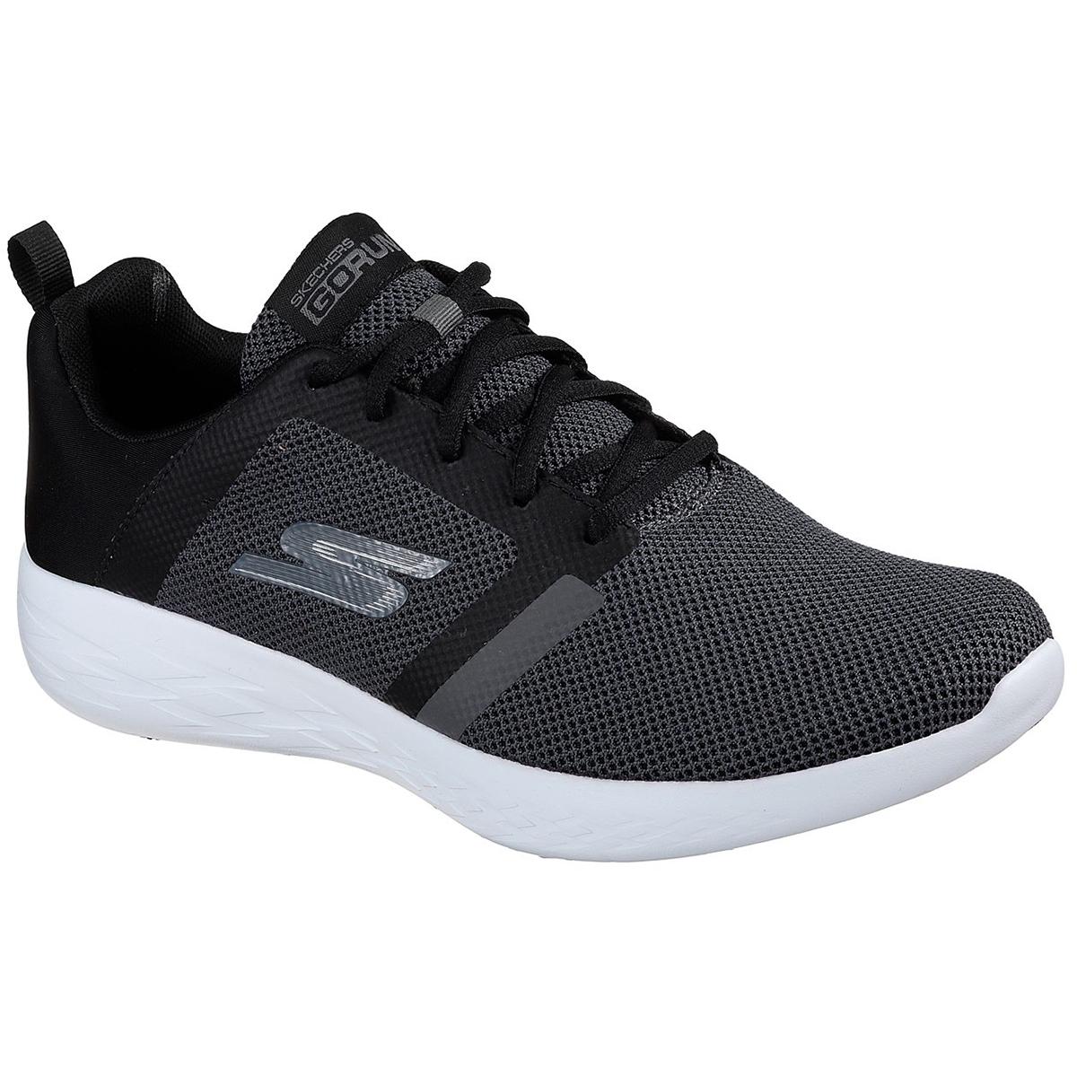 Skechers Men's Go Run 600 - Revel Running Shoes - Black, 9.5