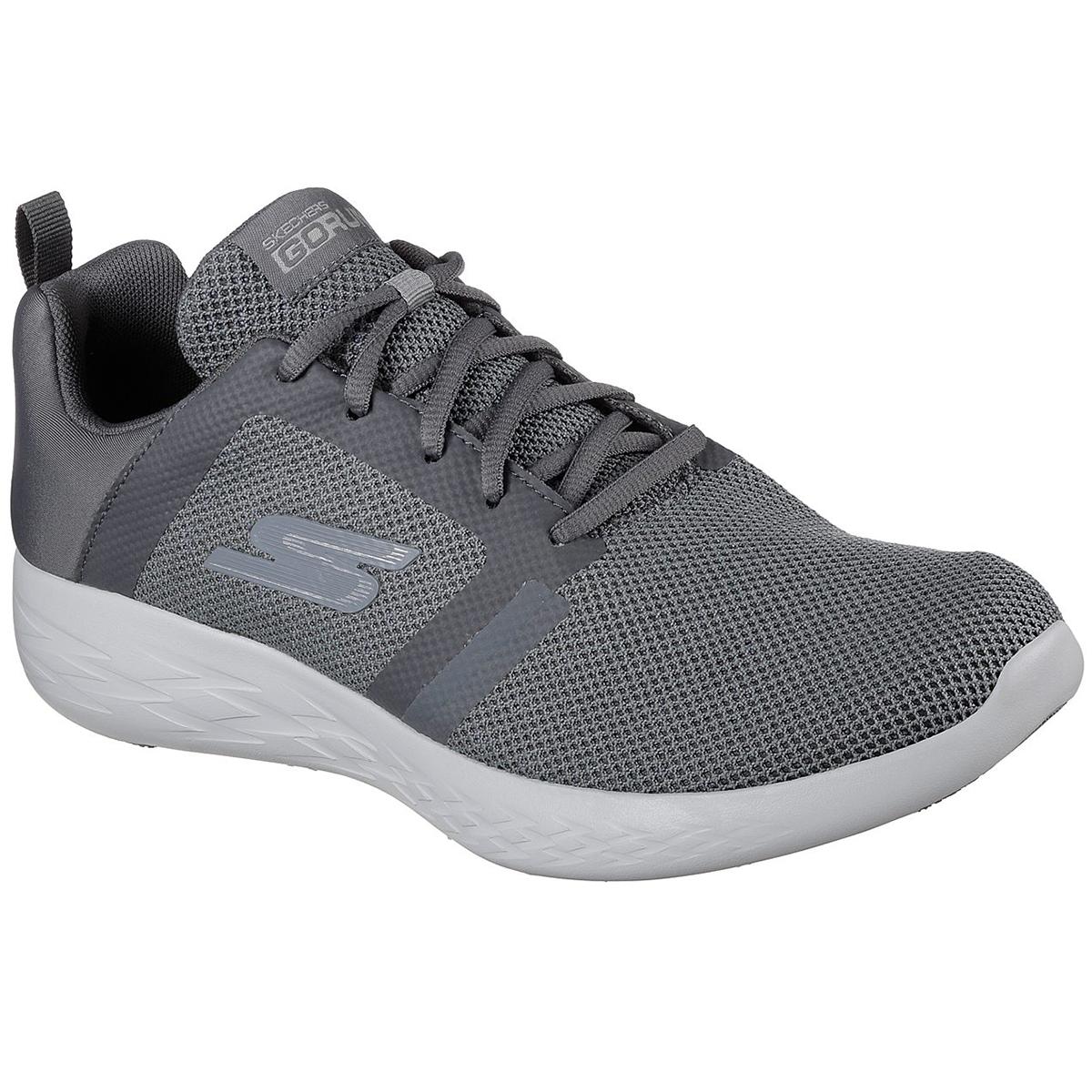 Skechers Men's Go Run 600 - Revel Running Shoes - Black, 8