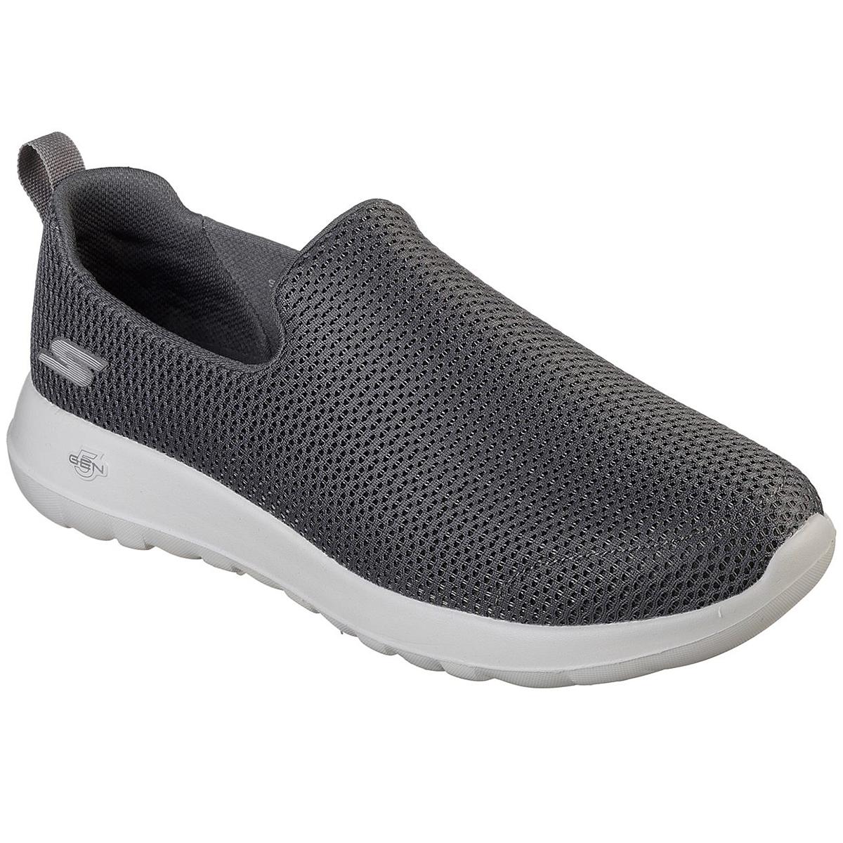 Skechers Men's Gowalk Max Casual Slip-On Shoes, Wide - Black, 9