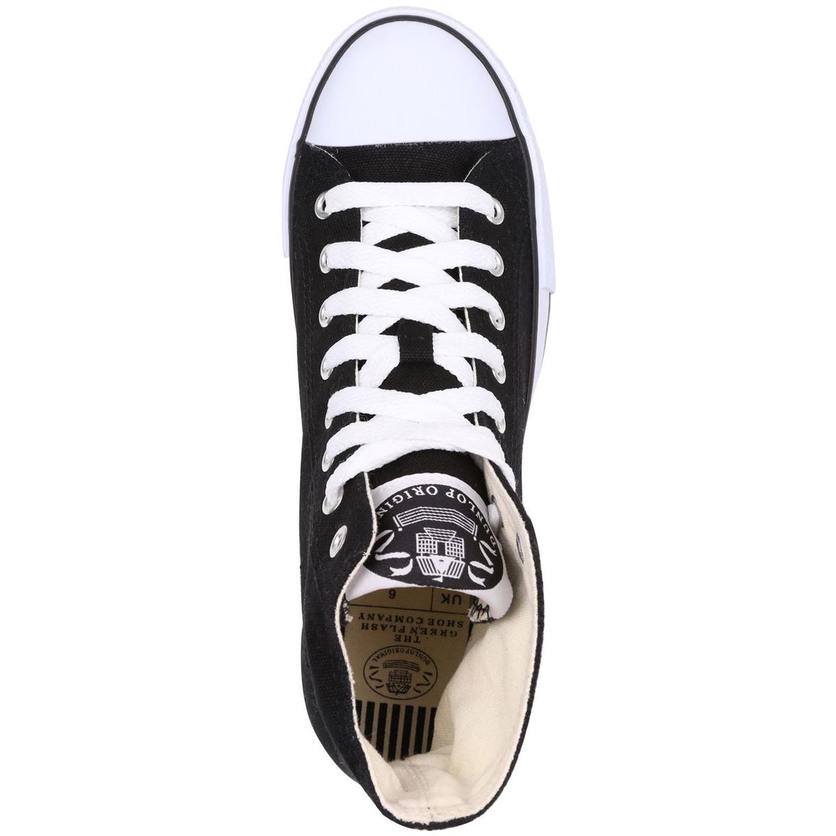 DUNLOP Men's Canvas High-Top Sneakers