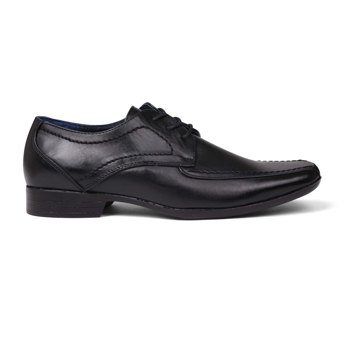 Giorgio Men's Bourne Lace-Up Dress Shoes - Black, 8