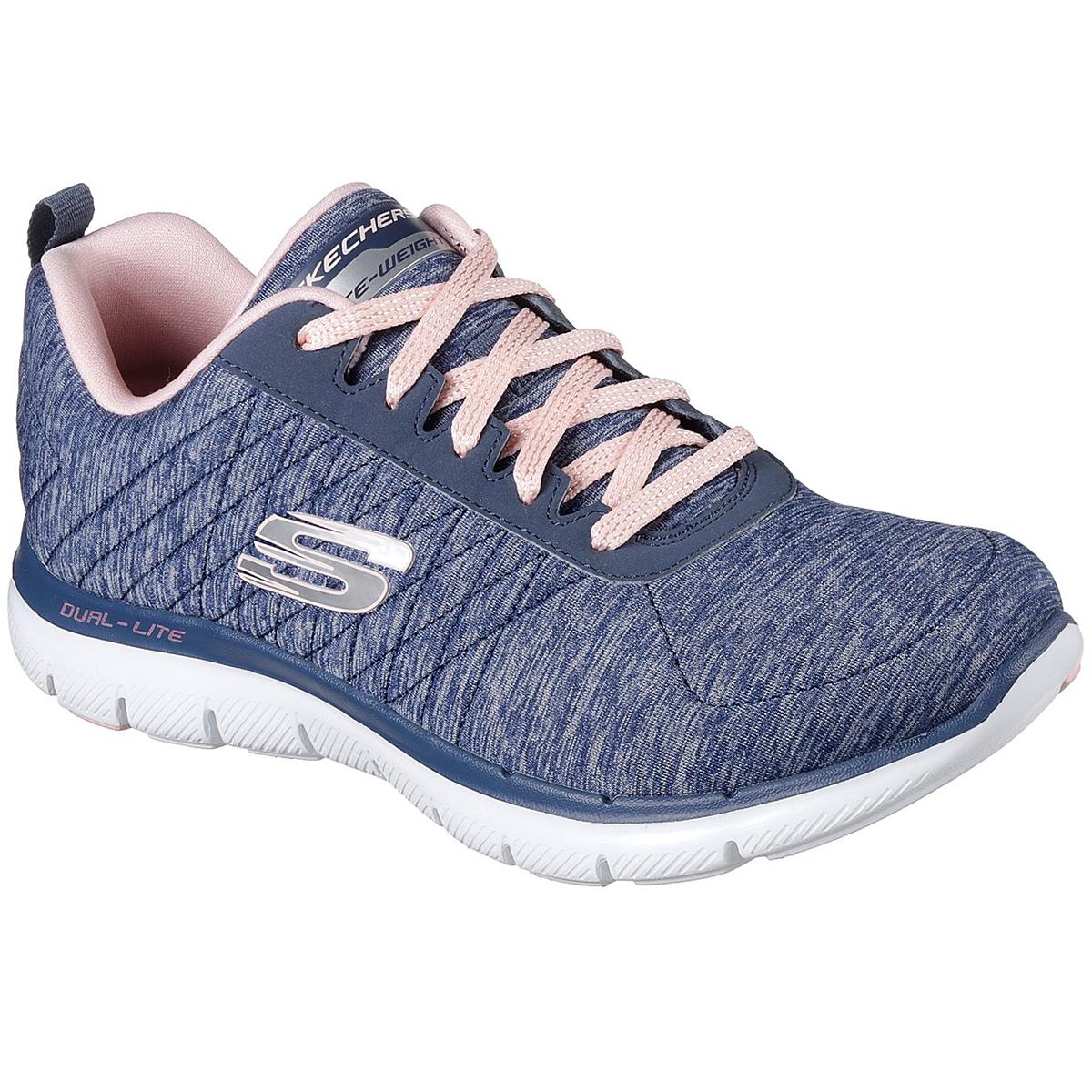 Skechers Women's Flex Appeal 2.0 Sneakers - Blue, 6.5