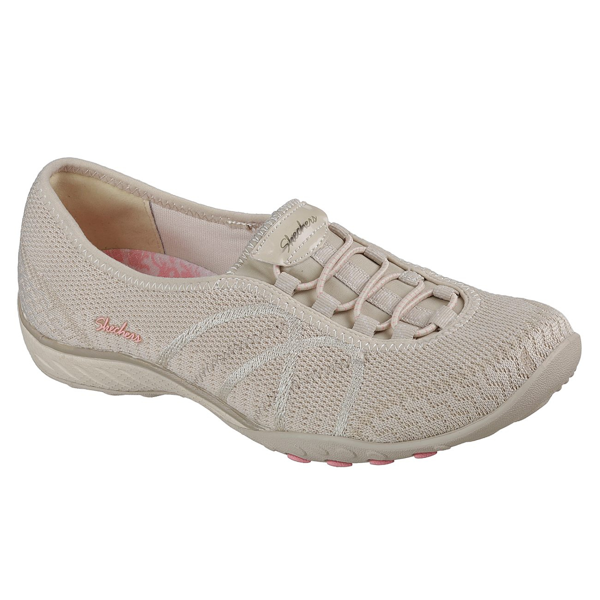 Skechers Women's Relaxed Fit: Breathe Easy - Sweet Jam Casual Slip-On Shoes - Brown, 9.5