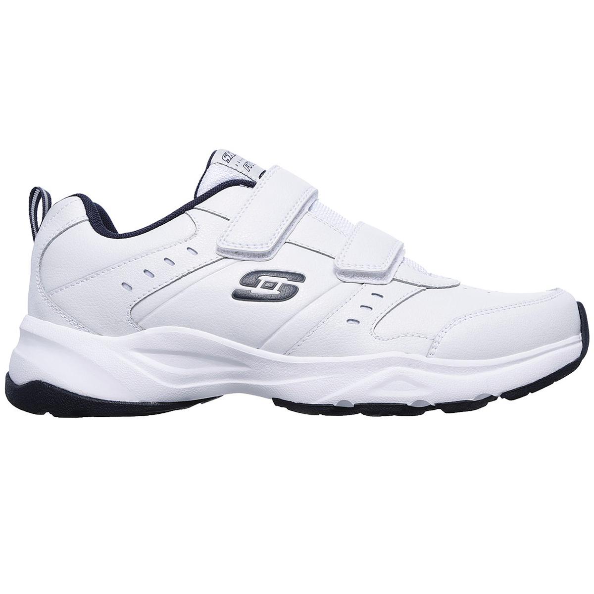 SKECHERS Men's Haniger Casspi Velcro Sneakers, Wide