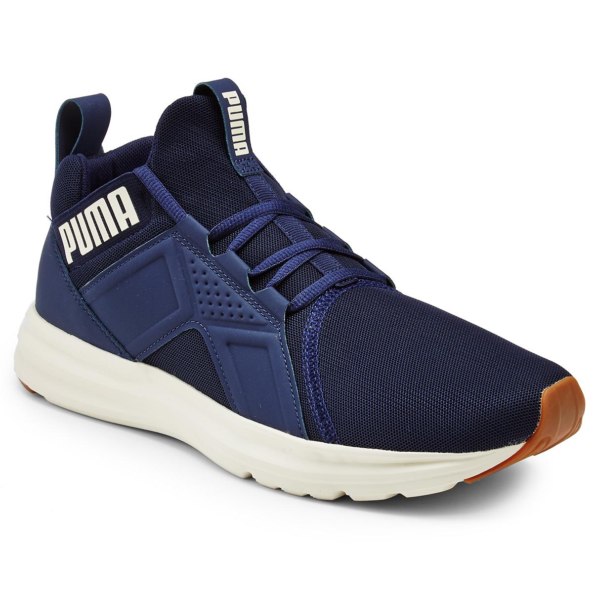 Puma Men's Enzo Running Shoes - Blue, 9.5