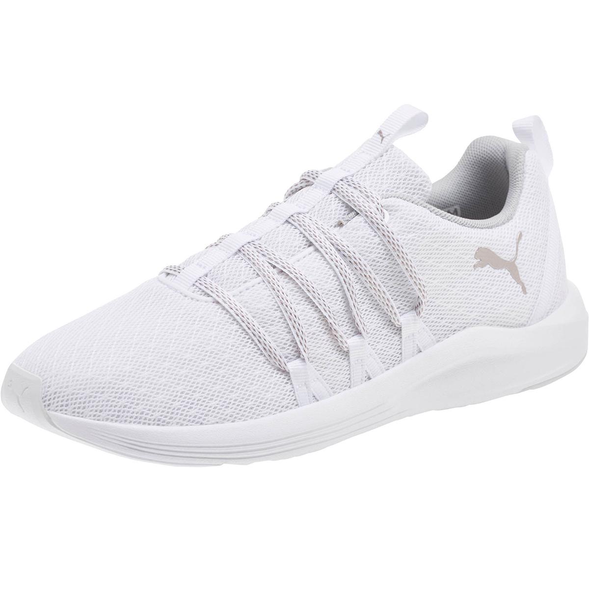Puma Women's Prowl Alt Knit Running Shoes - White, 6