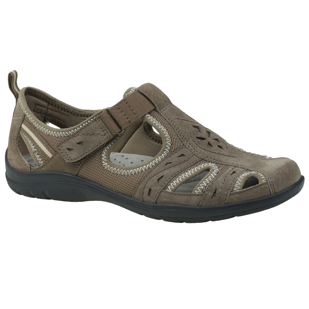 Earth Origins Women's Taye Casual Shoes, Wide - Brown, 7