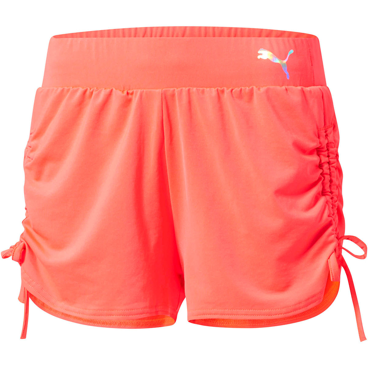 Puma Women's Transition Shorts - Red, S