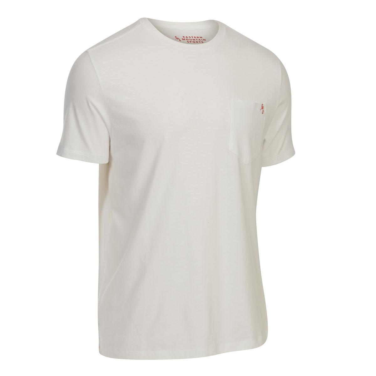 Ems Men's Organic Pocket Short-Sleeve Tee - White, M