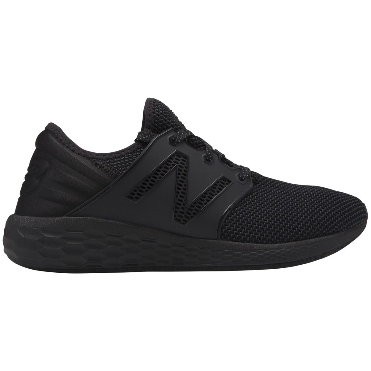 New Balance Men's Fresh Foam Cruz V2 Sport Running Shoes - Black, 10