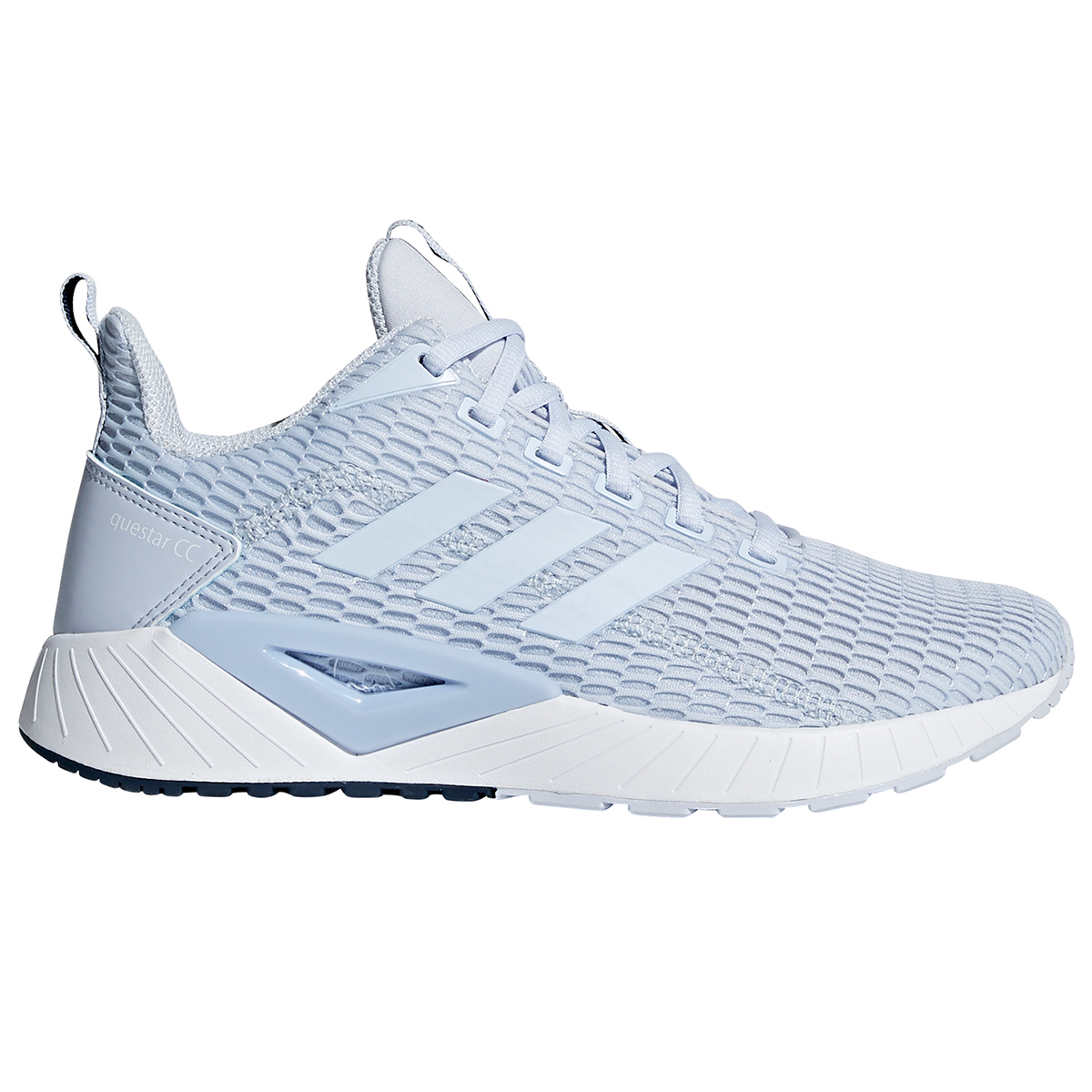 Adidas Women's Questar Cc Running Shoes - Blue, 10