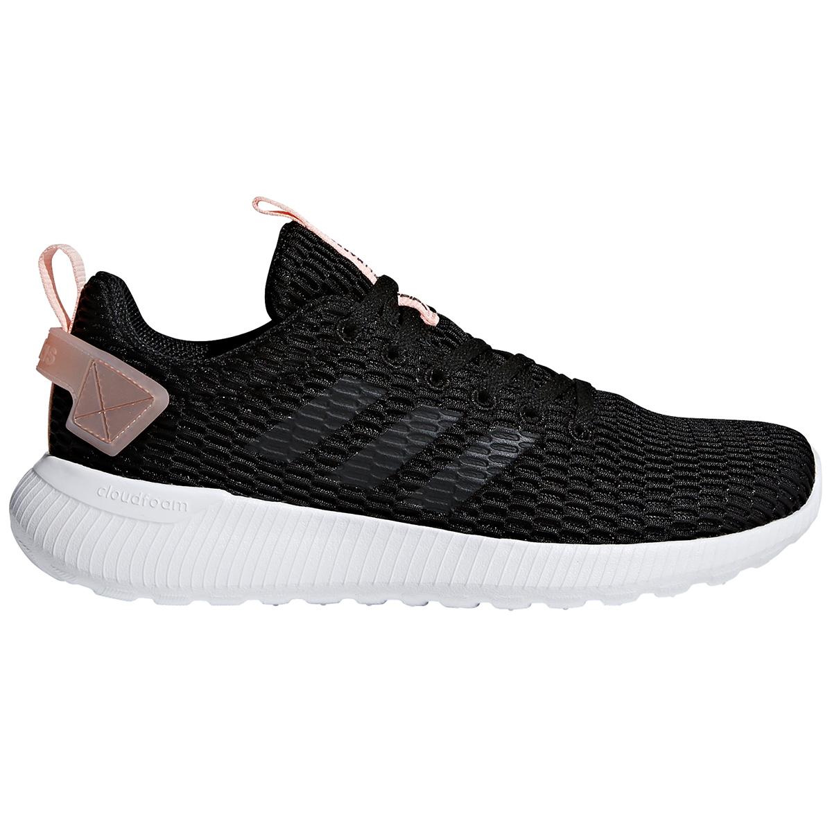 Adidas Women's Cloudfoam Lite Racer Cc Running Shoes - Black, 10