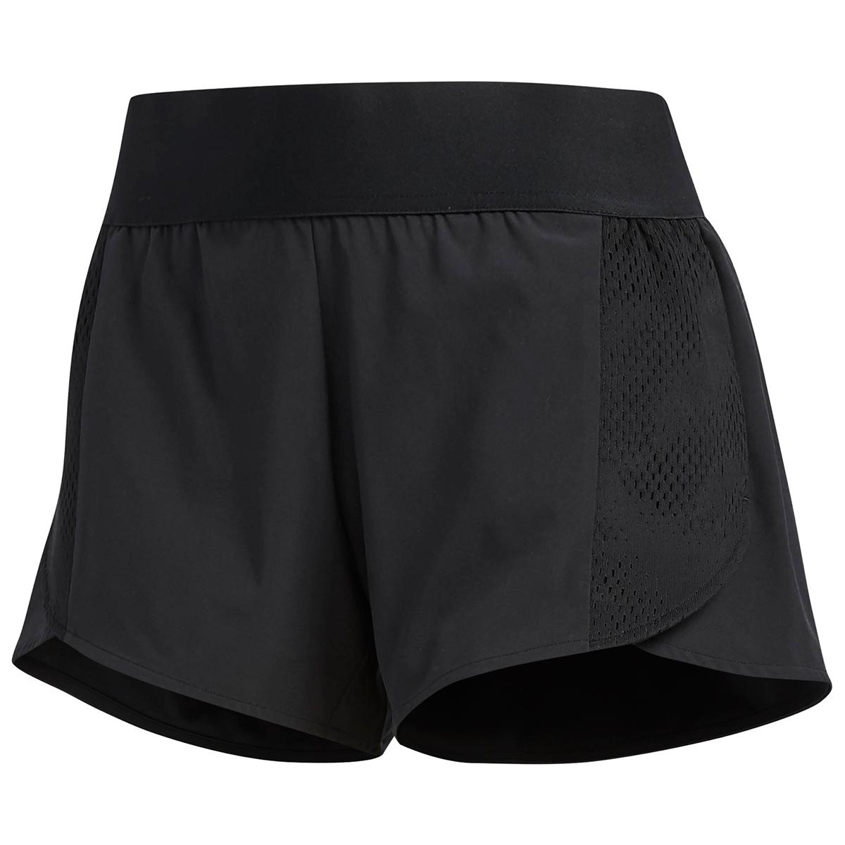 Adidas Women's Sport Id Woven Mesh Shorts - Black, S