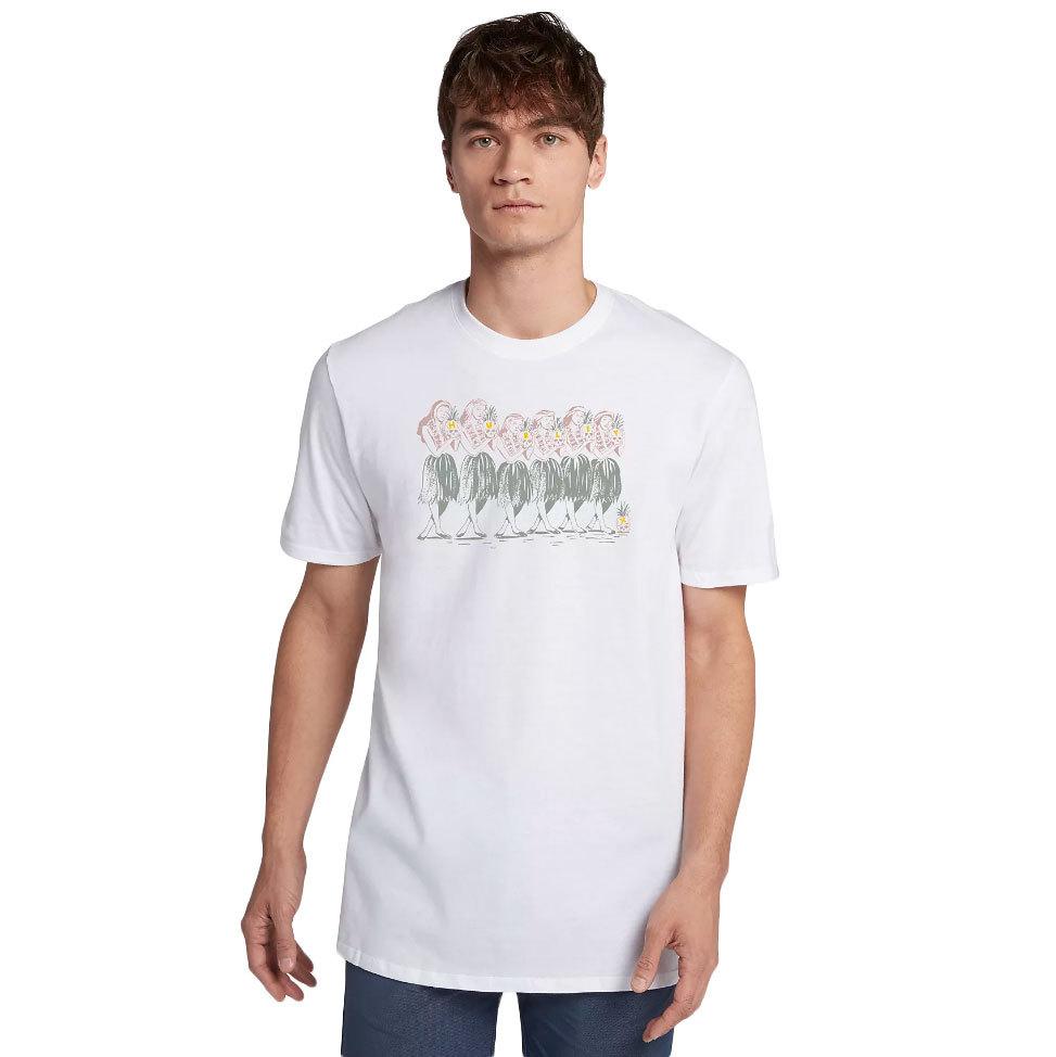 Hurley Men's Hula T-Shirt - White, L