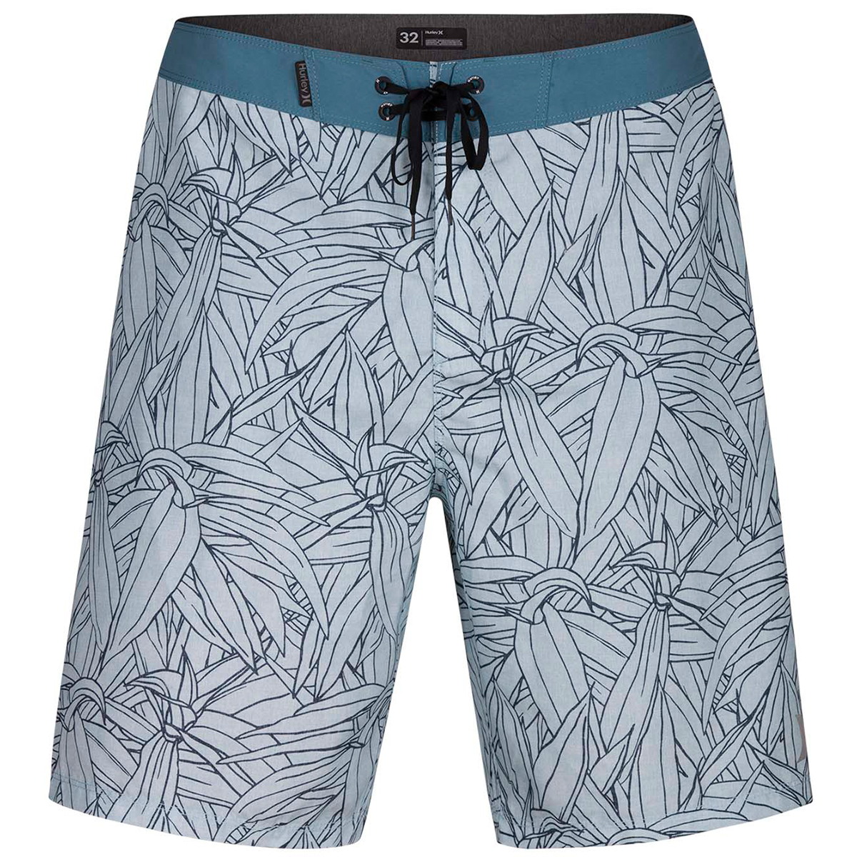 Hurley Guys' 20 In. Pupukea Boardshorts - Blue, 32