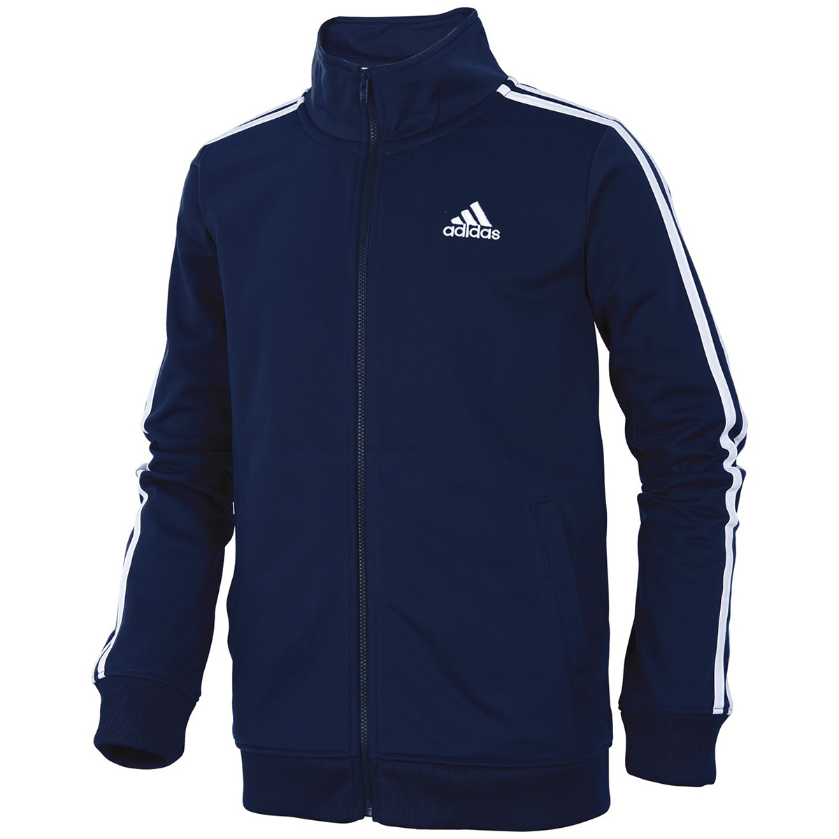 Adidas Big Boys' Iconic Tricot Track Jacket - Blue, S