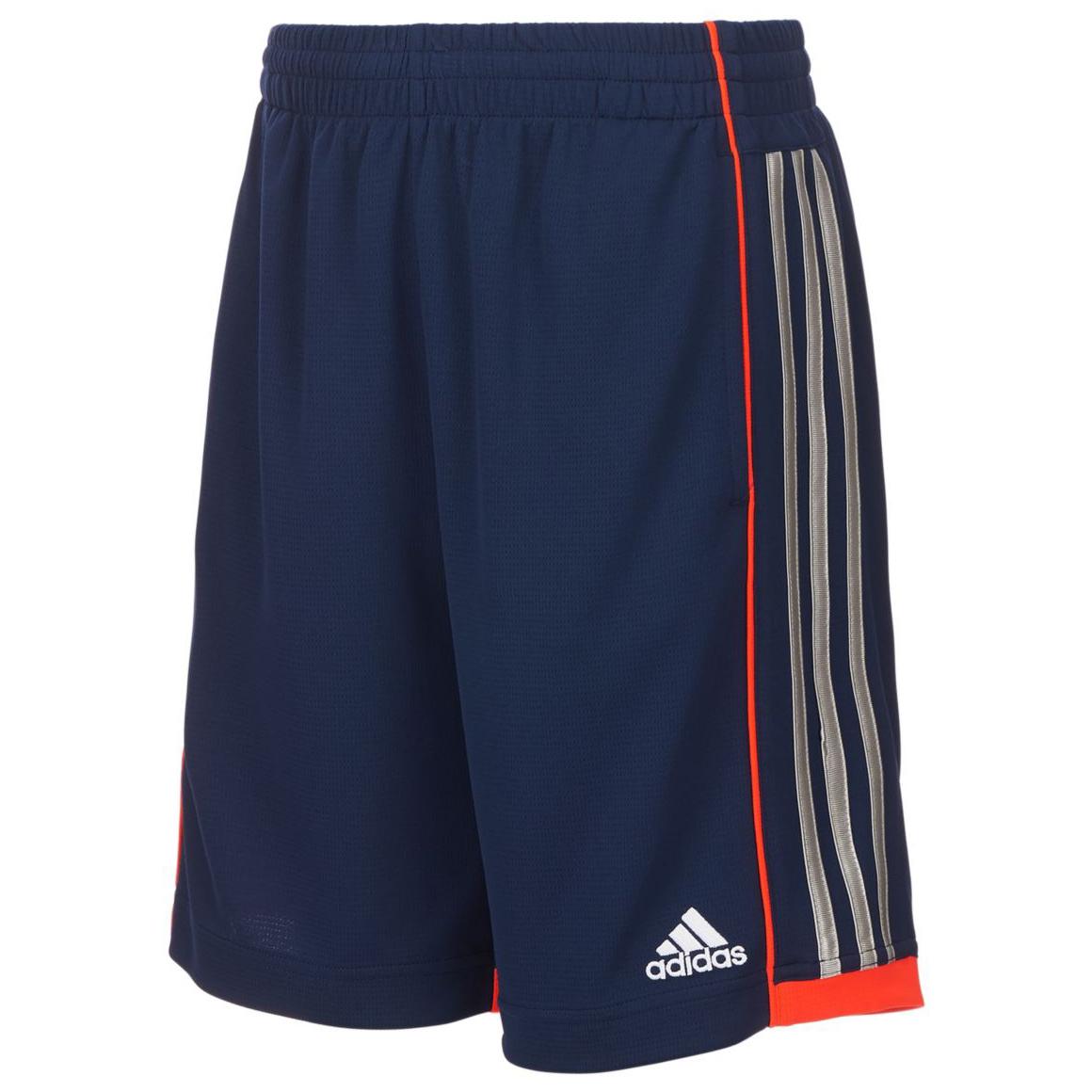 Adidas Little Boys' Next Speed Shorts - Blue, 6