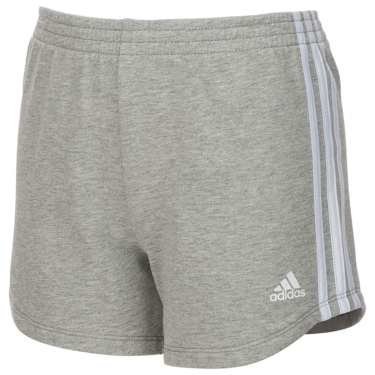 Adidas Big Girls' Sport Shorts - Black, M