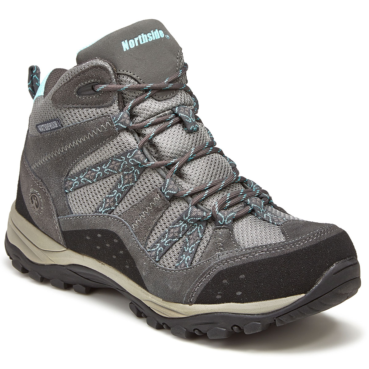 Northside Women's Freemont Mid Waterproof Hiking Boots - Black, 9