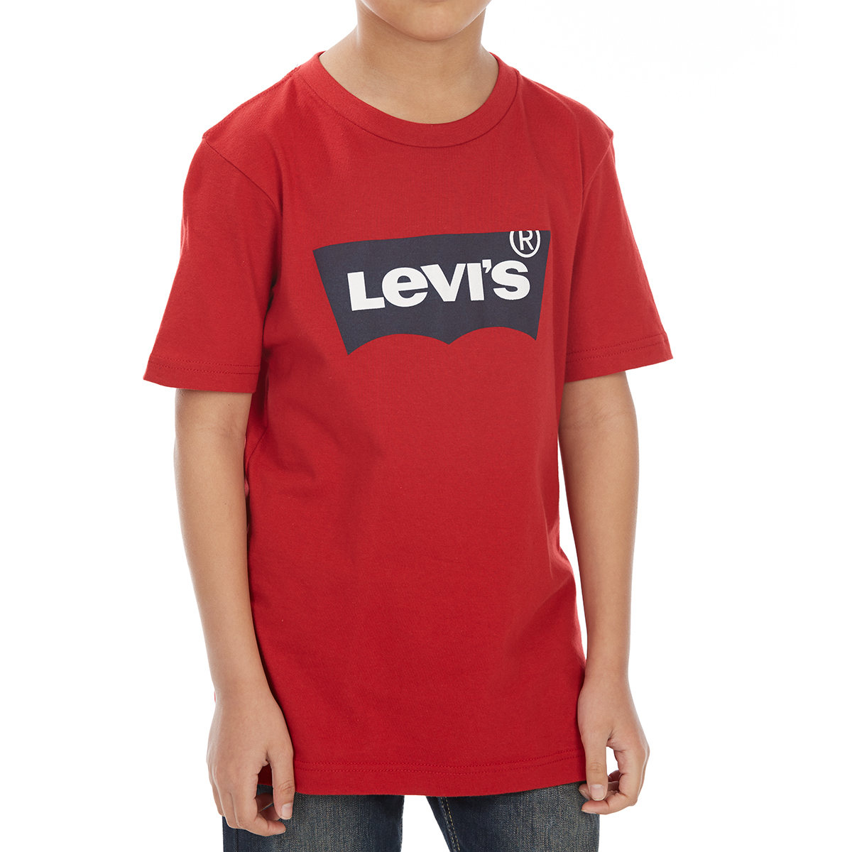 Levi's Big Boys' Batwing Short-Sleeve Tee - Red, M