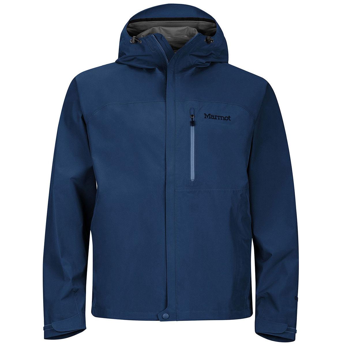 Marmot Men's Minimalist Waterproof Jacket - Blue, M