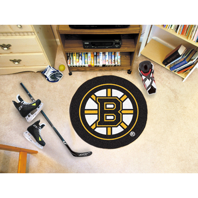 Boston Bruins Fanmats Nhl Puck Mat