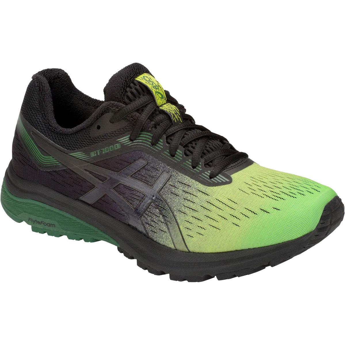 Asics Men's Gt-1000 7 Sp Running Shoes - Green, 12