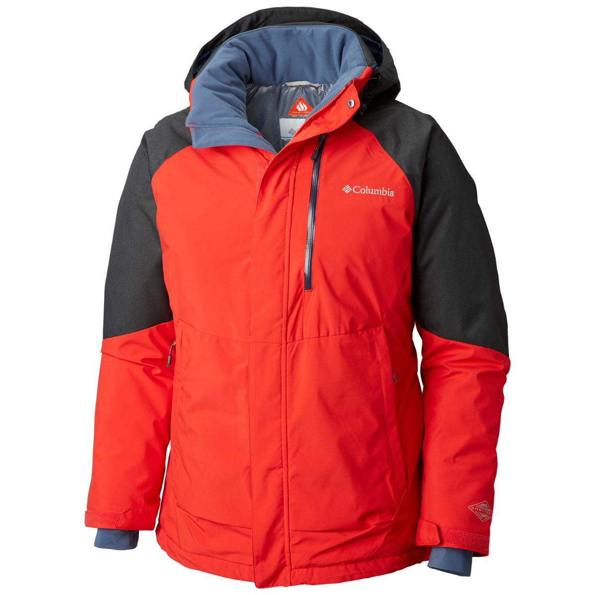 Columbia Men's Wildside Jacket - Red, XL