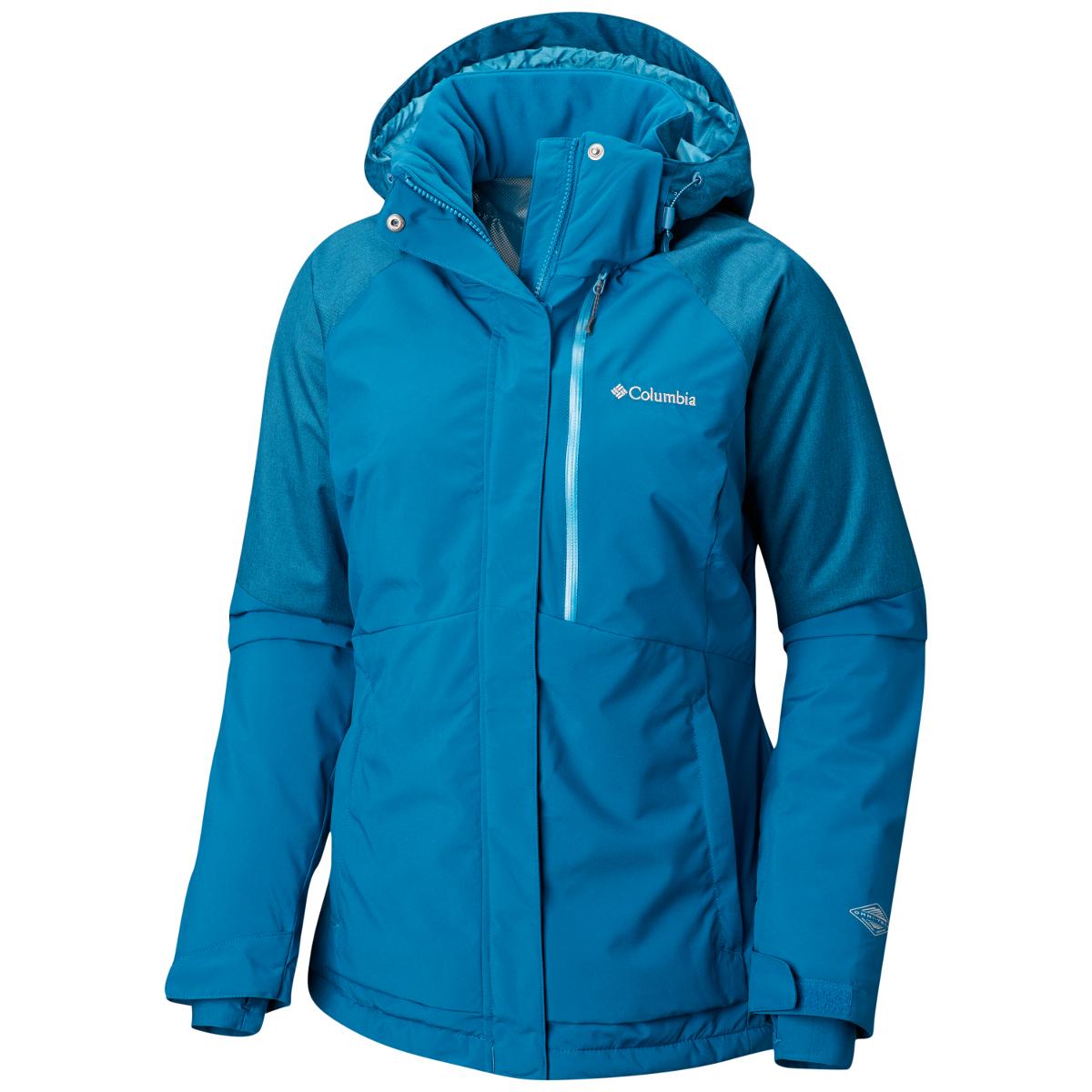 Columbia Women's Wildside Jacket - Blue, M