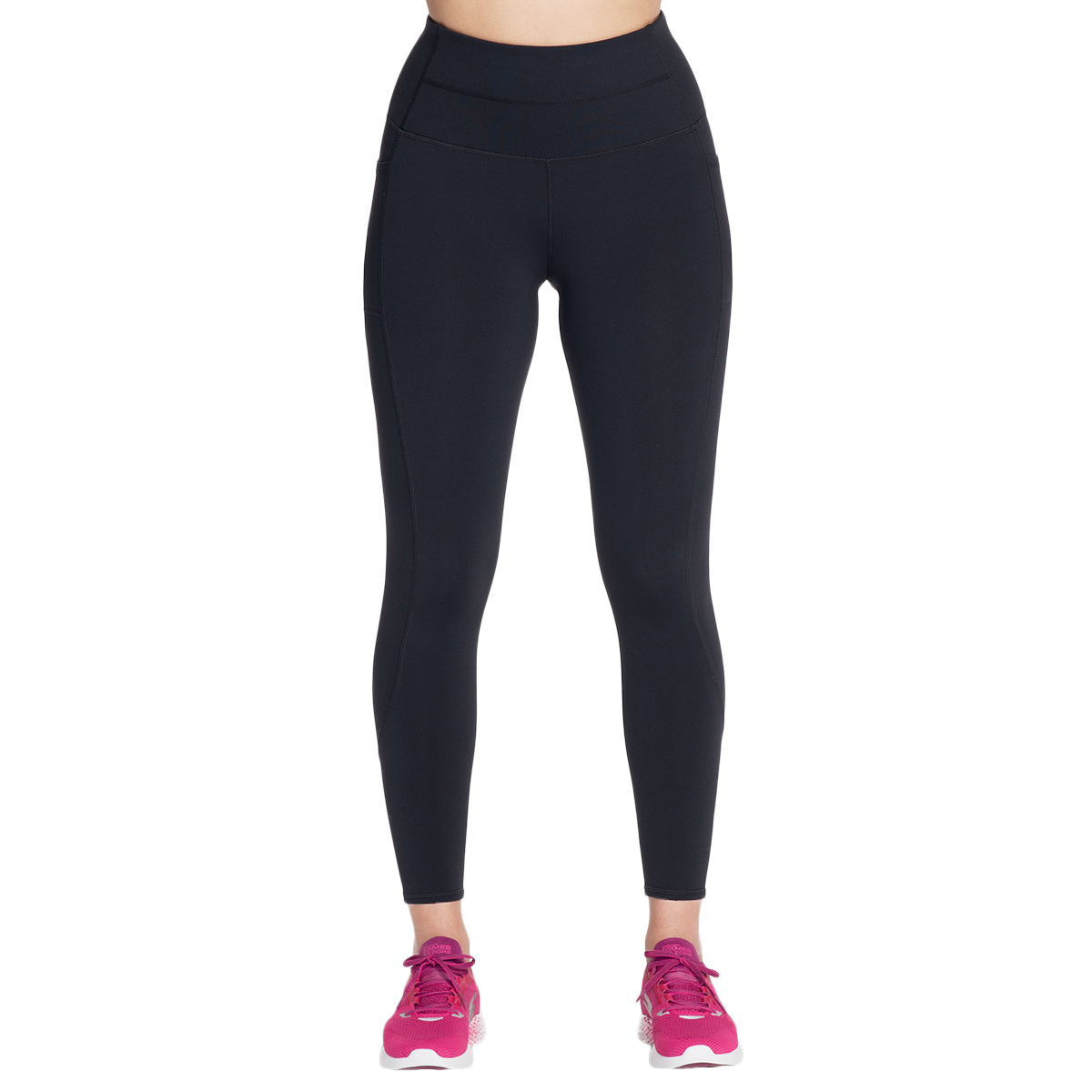 Skechers Women's Backbend High-Waisted Leggings - Black, L
