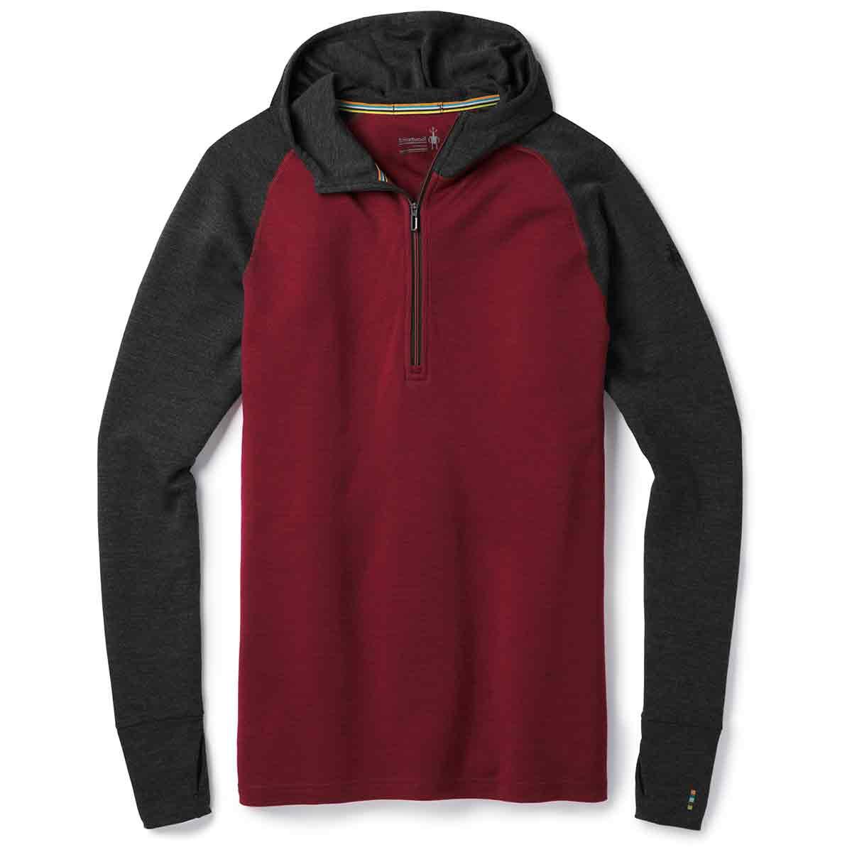 Smartwool Men's Merino 250 Base Layer Hoodie - Red, M