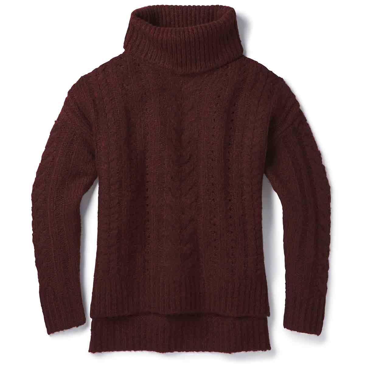Smartwool Women's Moon Ridge Boyfriend Sweater - Purple, XL