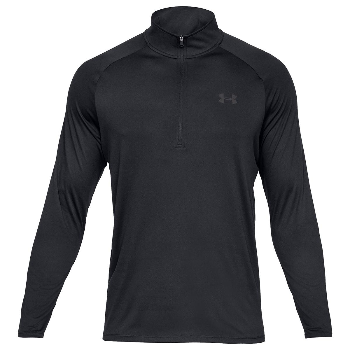 Under Armour Men's Ua Tech Half Zip Pullover - Black, 3XL