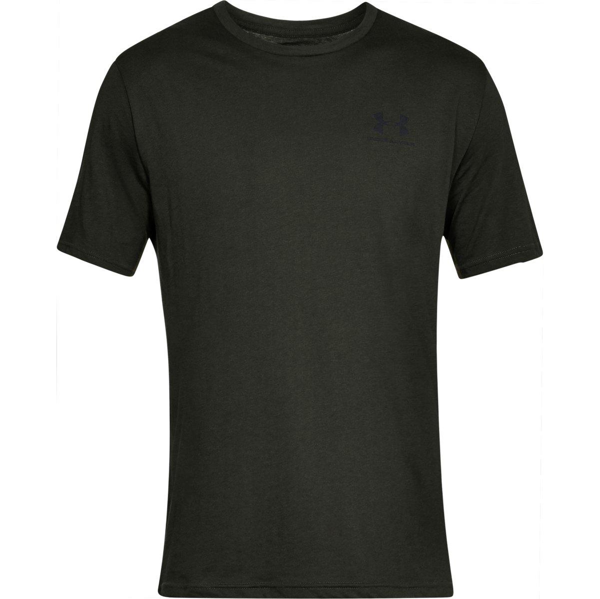 Under Armour Men's Ua Sportstyle Left Chest Short-Sleeve Tee - Green, L