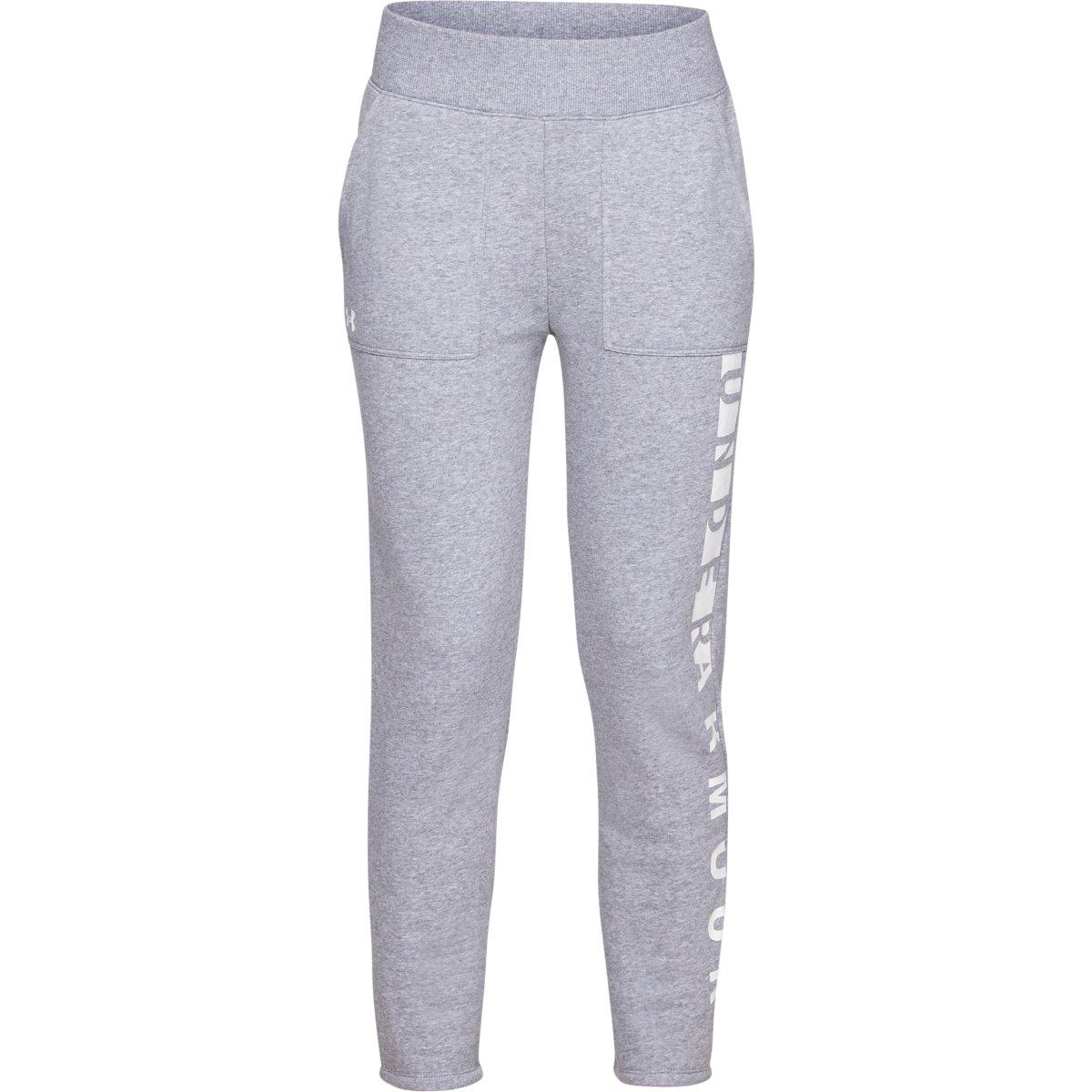 Under Armour Women's Ua Rival Fleece Pants - Black, M