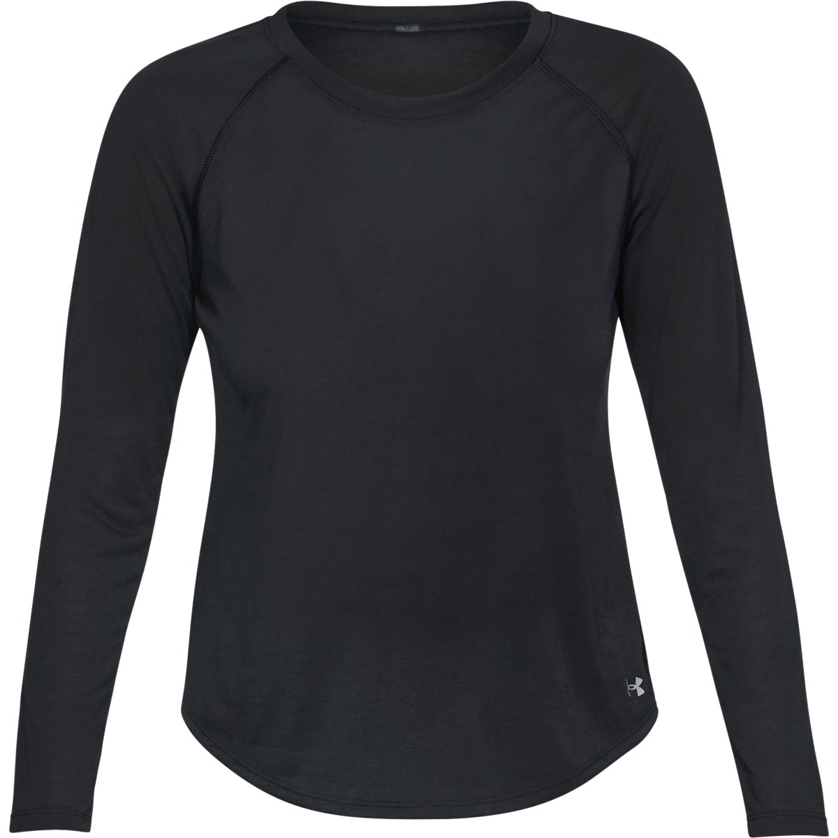 Under Armour Women's Ua Whisperlight Long-Sleeve Shirt - Black, M
