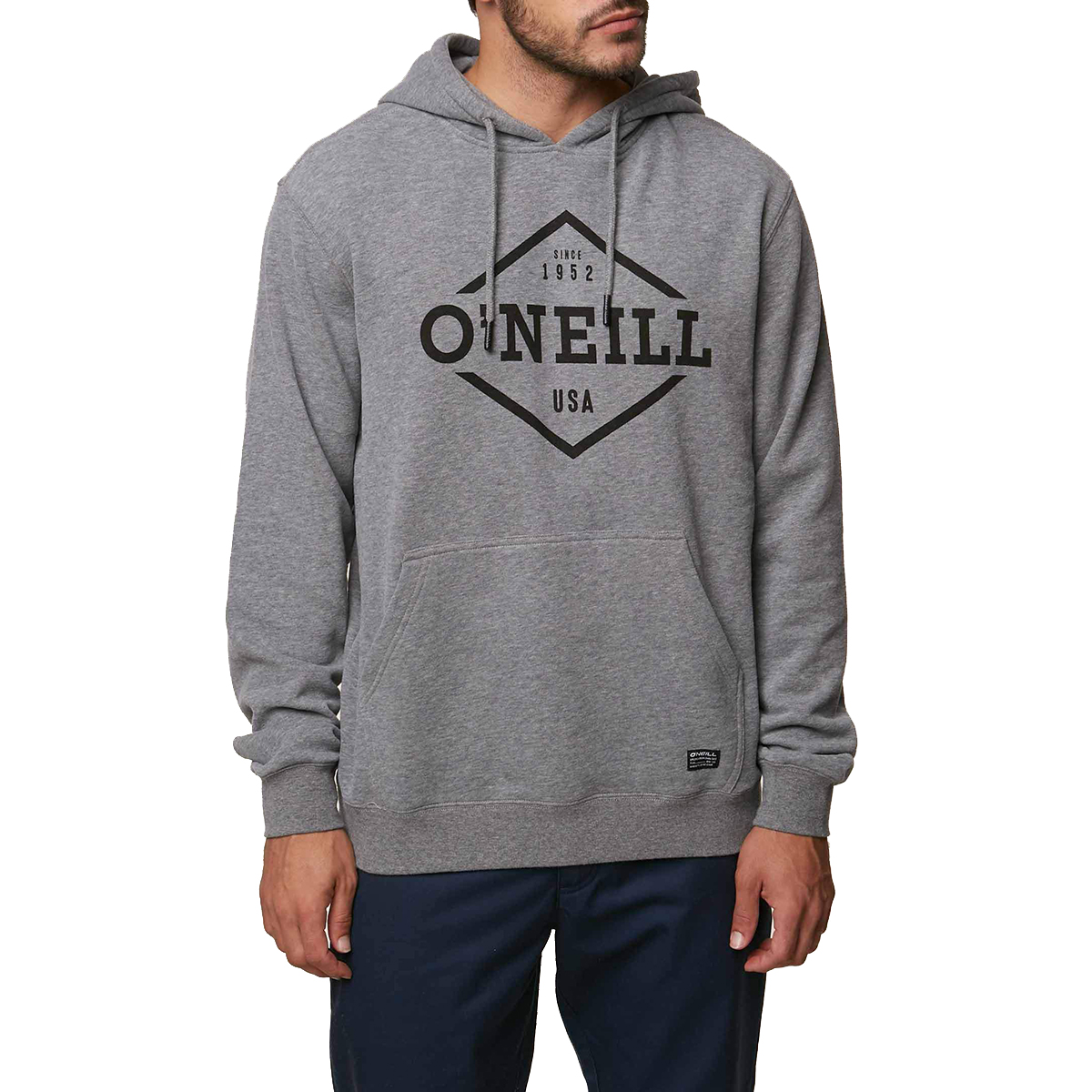 O'neill Guys' Double Trouble Pullover Hoodie - Black, L