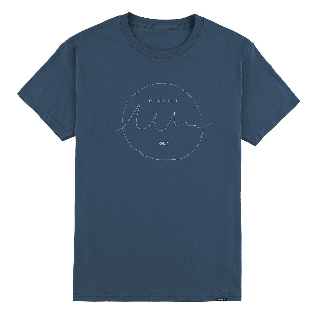 O'neill Guys' Interview Short-Sleeve Tee - Blue, L