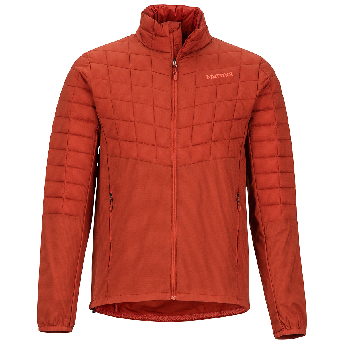 Marmot Men's Featherless Hybrid Jacket - Orange, M