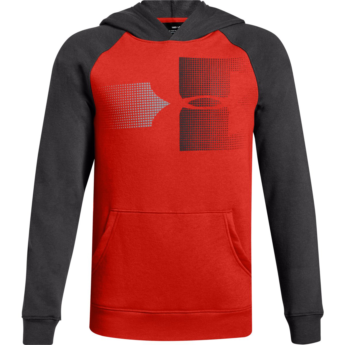 Under Armour Big Boys' Ua Rival Logo Pullover Hoodie - Red, S