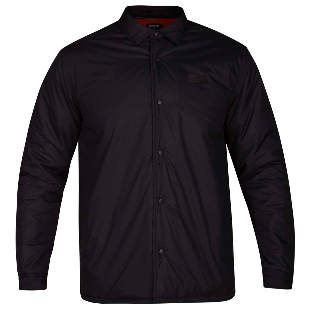 Hurley Guys' Oakland Shacket - Black, L