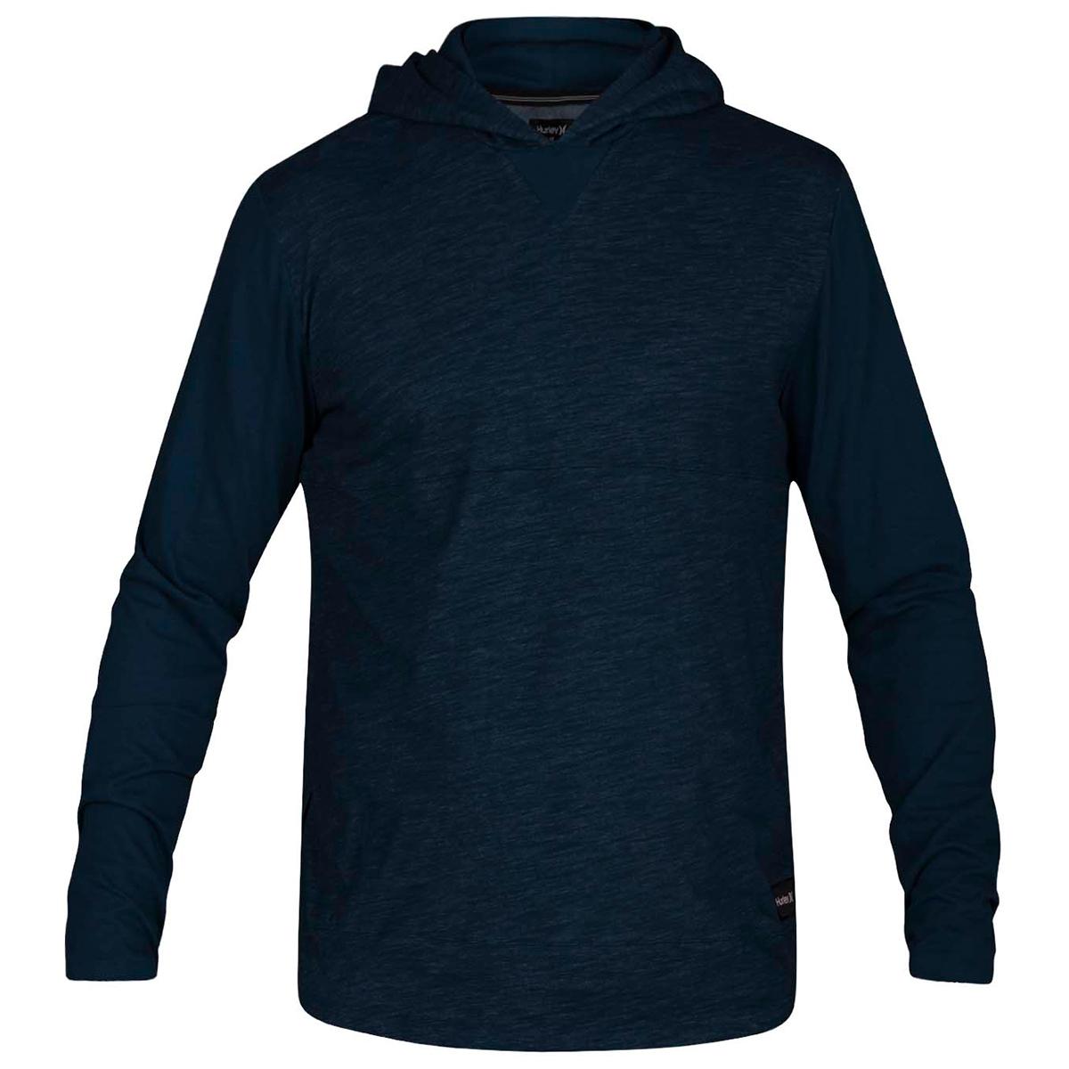 Hurley Men's Dri-Fit Lagos Pullover Hoodie - Blue, L
