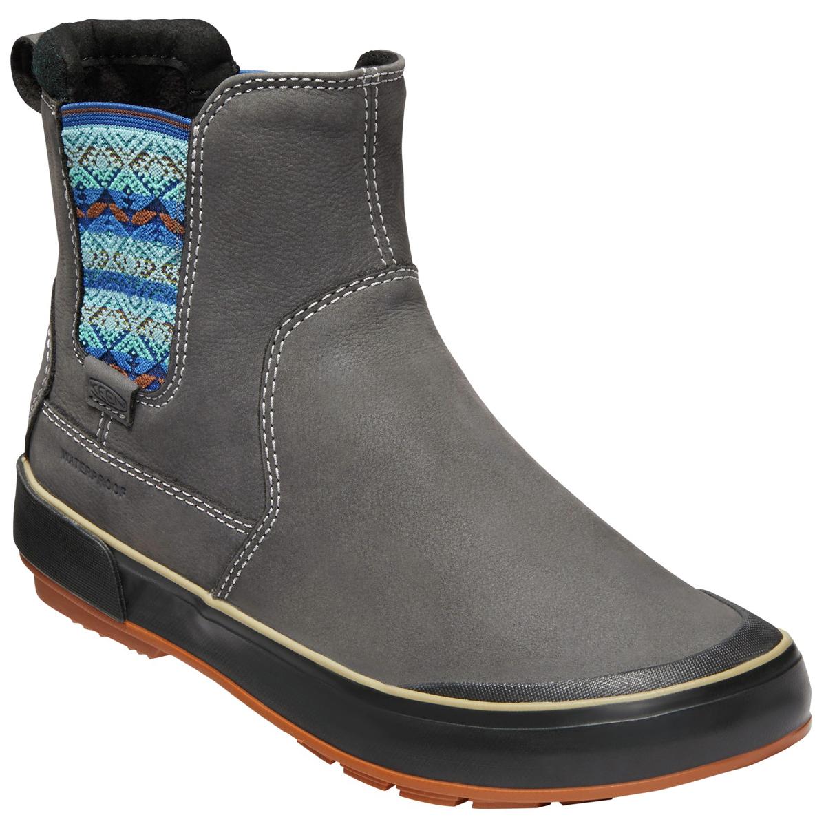 Keen Women's Elsa Ii Waterproof Insulated Chelsea Boots - Black, 7