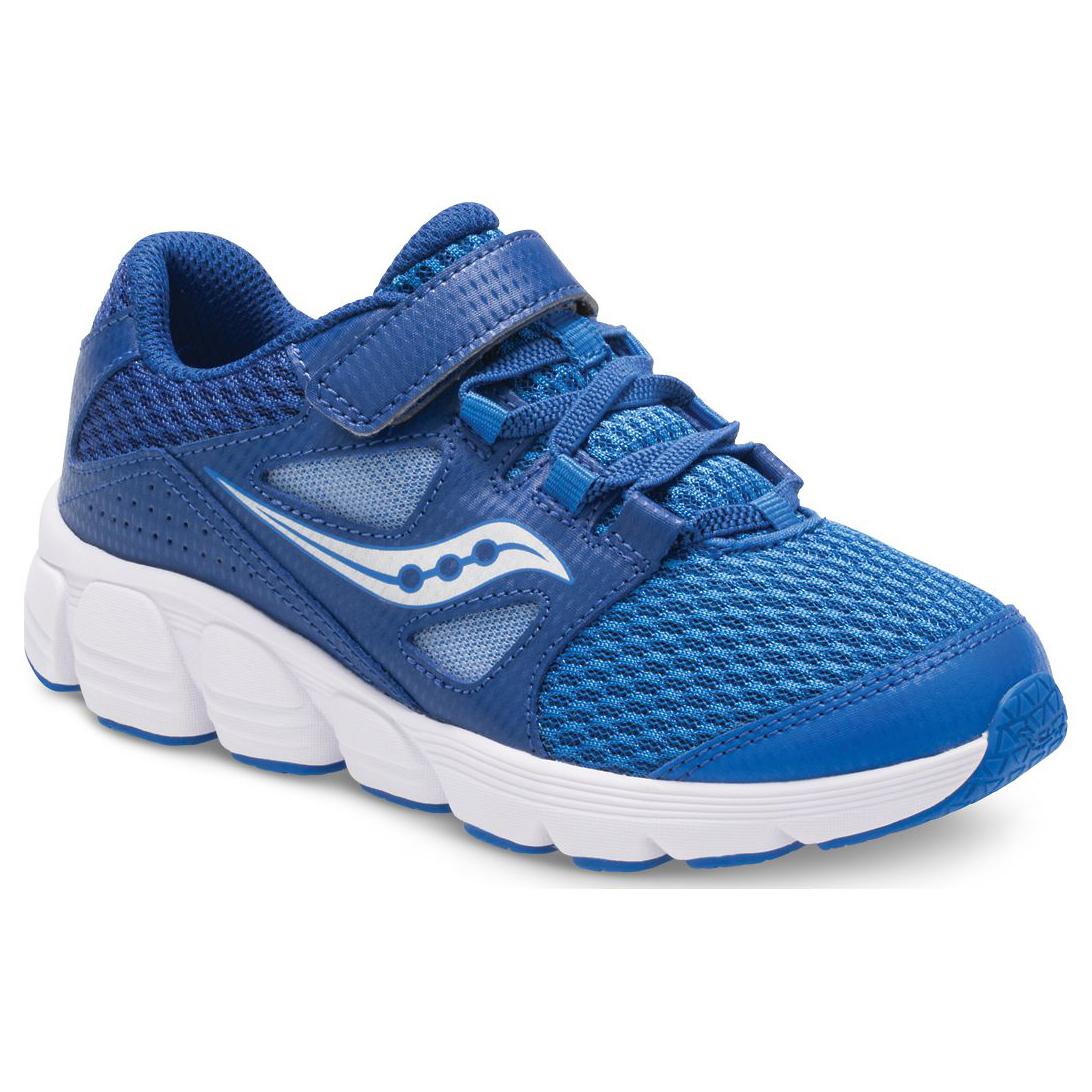Saucony Little Boys' Preschool Kotaro 4 A/c Running Shoes, Wide - Blue, 2