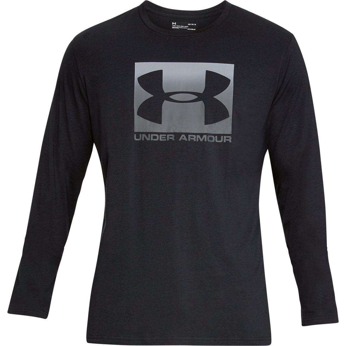 Under Armour Men's Ua Sportstyle Boxed Graphic Long-Sleeve Tee - Black, XL
