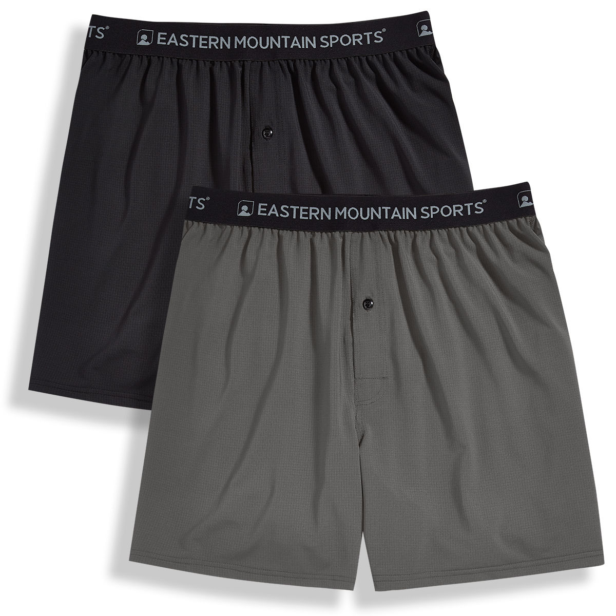 Ems Men's Techwick Boxers, 2-Pack - Black, L