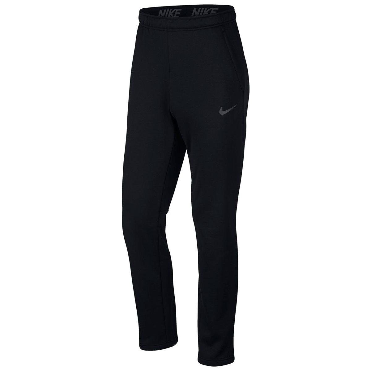 Nike Men's Therma Fleece Regular Pants - Black, S