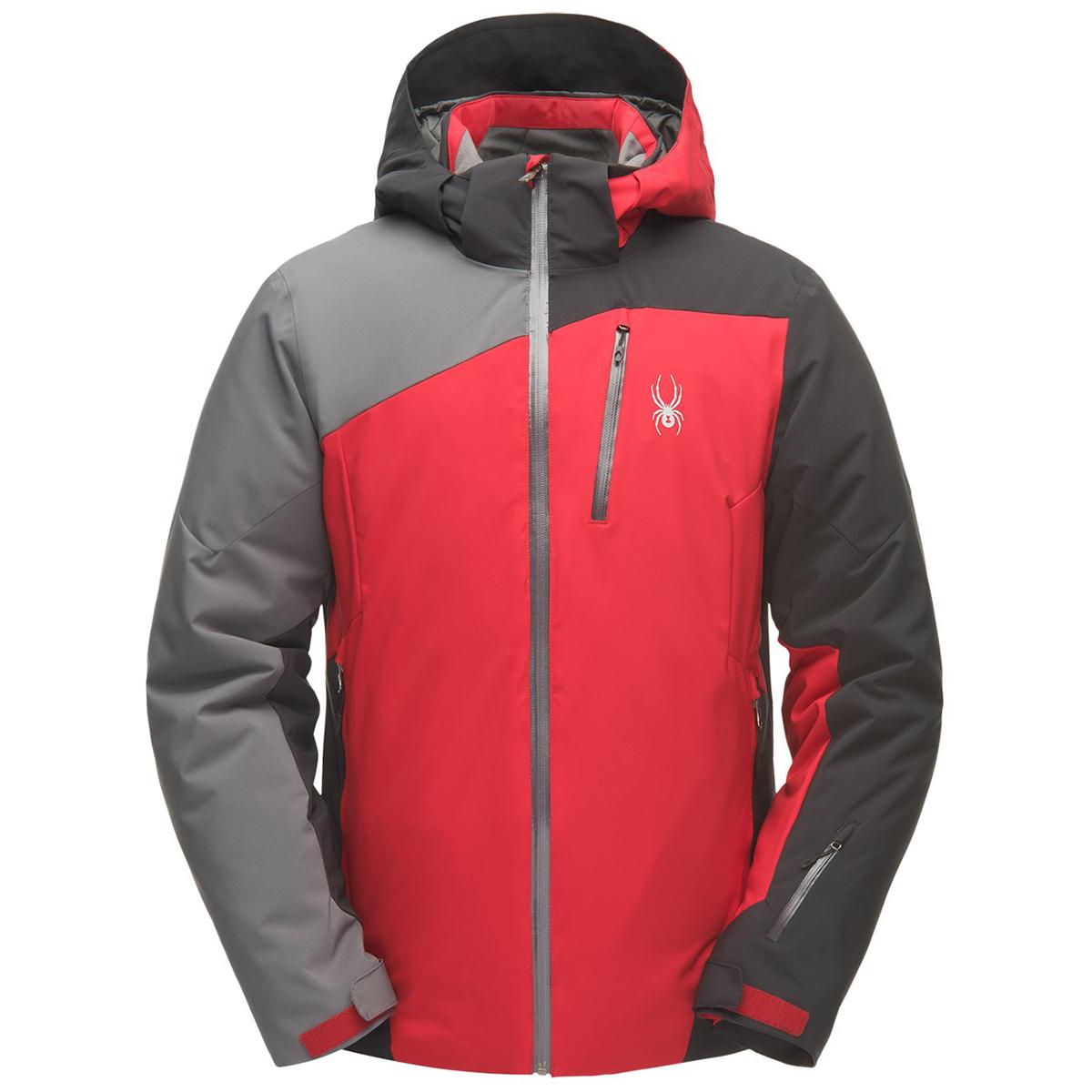 Spyder Men's Copper Gtx Ski Jacket - Red, XL