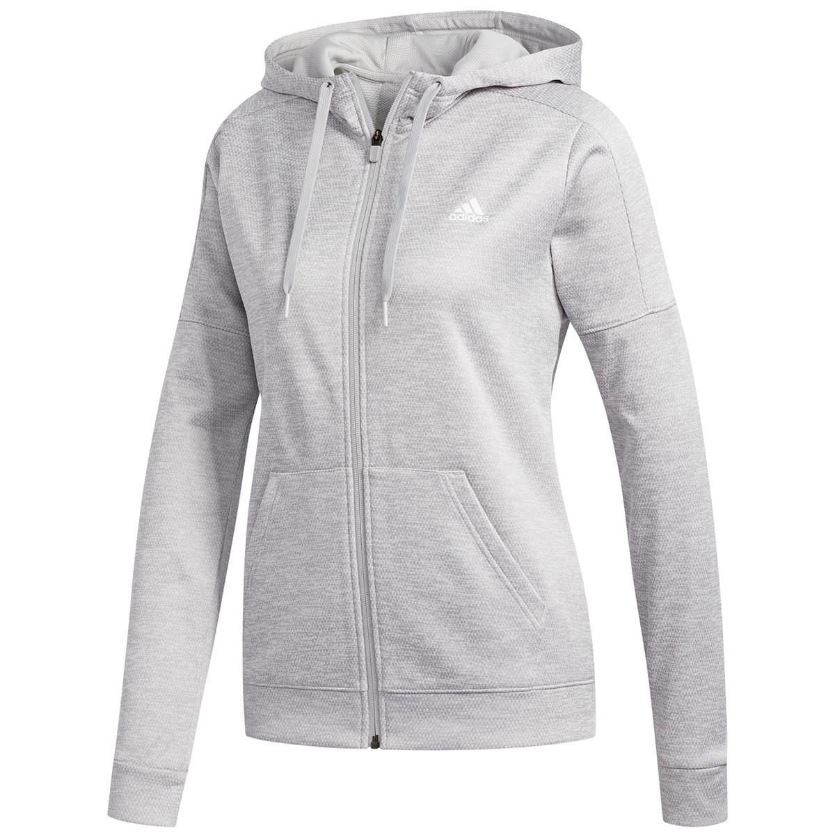 Adidas Women's Team Issue Full-Zip Hoodie - Black, M